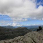 Vidt utsyn frå Etne fjella